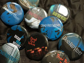 Dead Red Velvet pinback buttons badges lapel pins