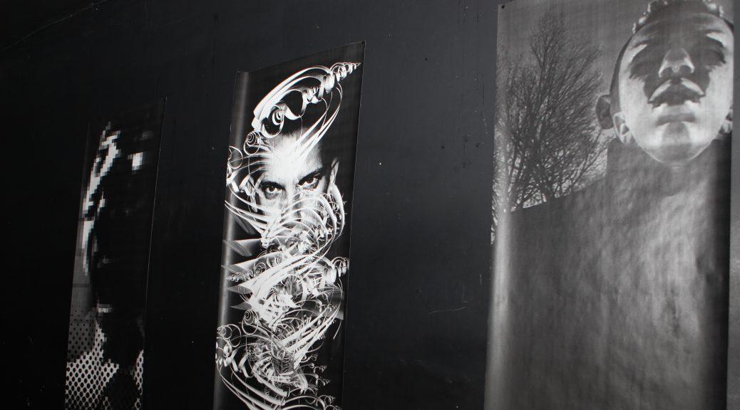 Rex Ramsa triptych - large format printing by Erik Mohr