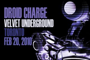 Droid Charge - Velvet Underground title card